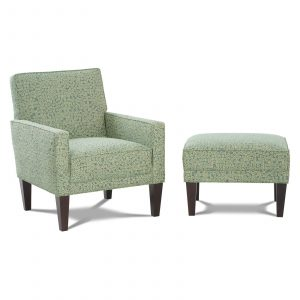 accent chair and ottoman set cute accent chair with tapered wooden legs and ottoman set