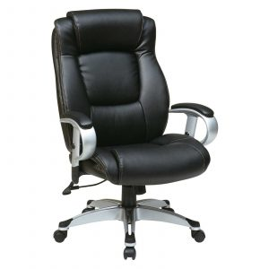 adjustable office chair office star leather seating with adjustable arms and height