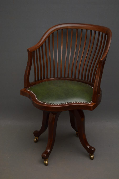 antique desk chair edwardian office chair asab