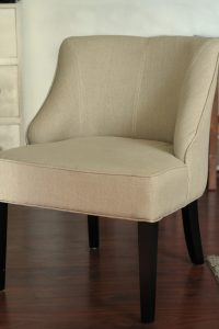 armless chair slipcover img