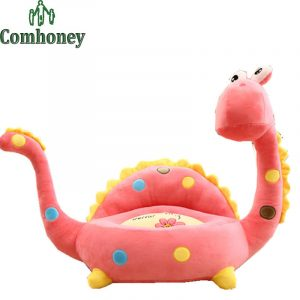 baby plush chair baby chair dinosaur d cartoon baby plush chair newborn infant sofa feeding chair toddlers safety seats