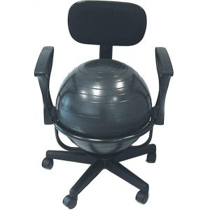 ball chair for office cando ball office chair l