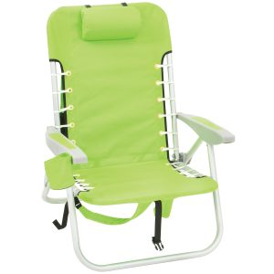 beach chair backpack sc lime