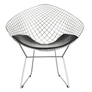 bertoia diamond chair eei blk