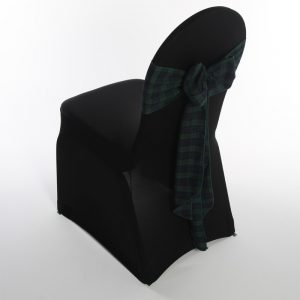 black chair covers blackwatchtartan