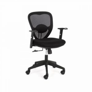 black desk chair multitask black mesh office desk chair