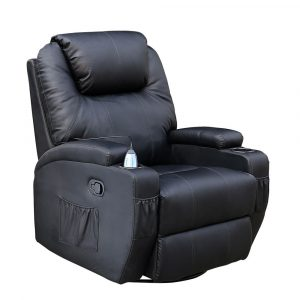 black leather recliner chair dab e aa afda