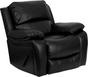 black leather recliner chair traditional rocking chairs