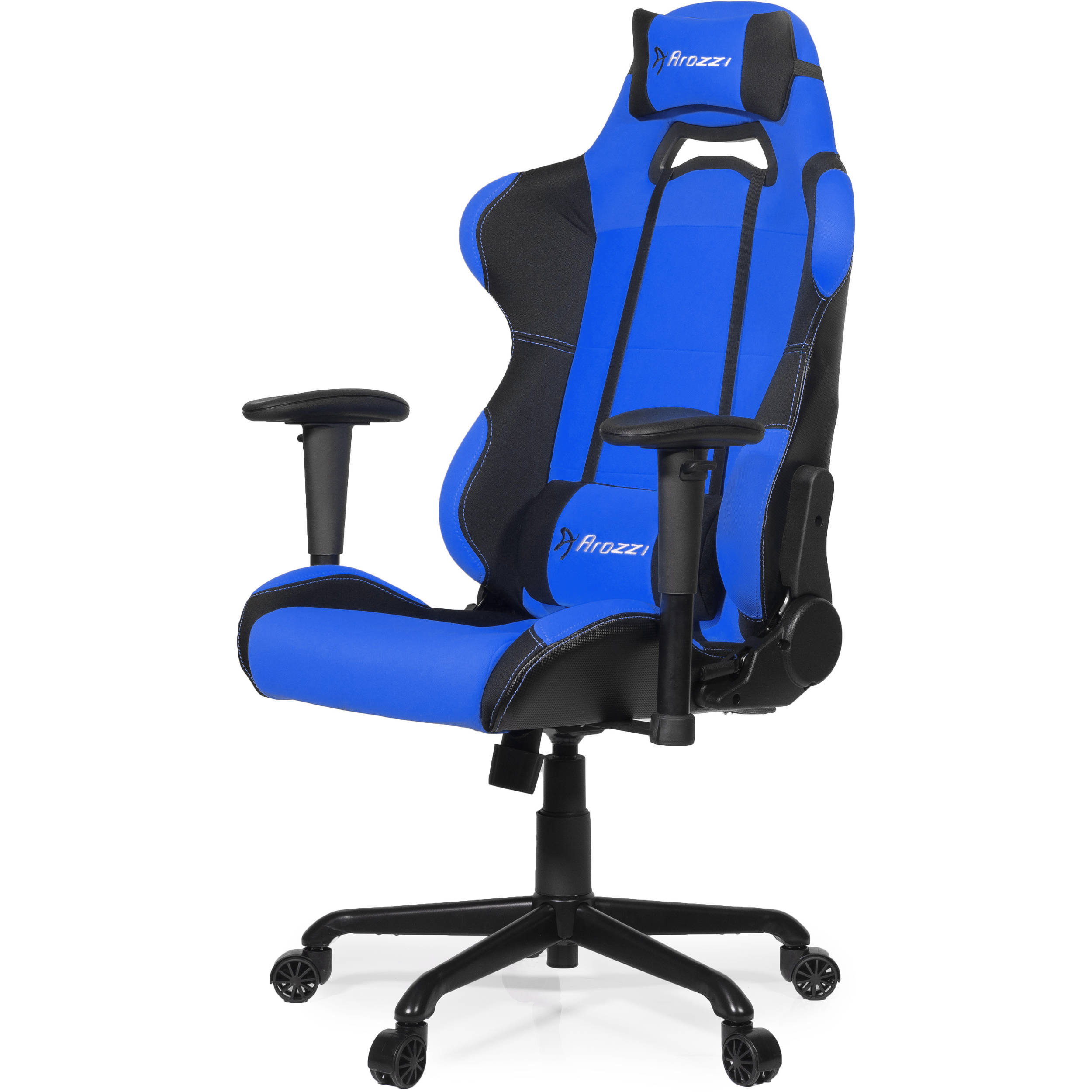 blue gaming chair arozzi torretta gaming chair blue