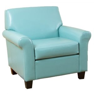 blue leather chair blue leather retro chair