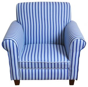 blue striped chair contemporary chairs
