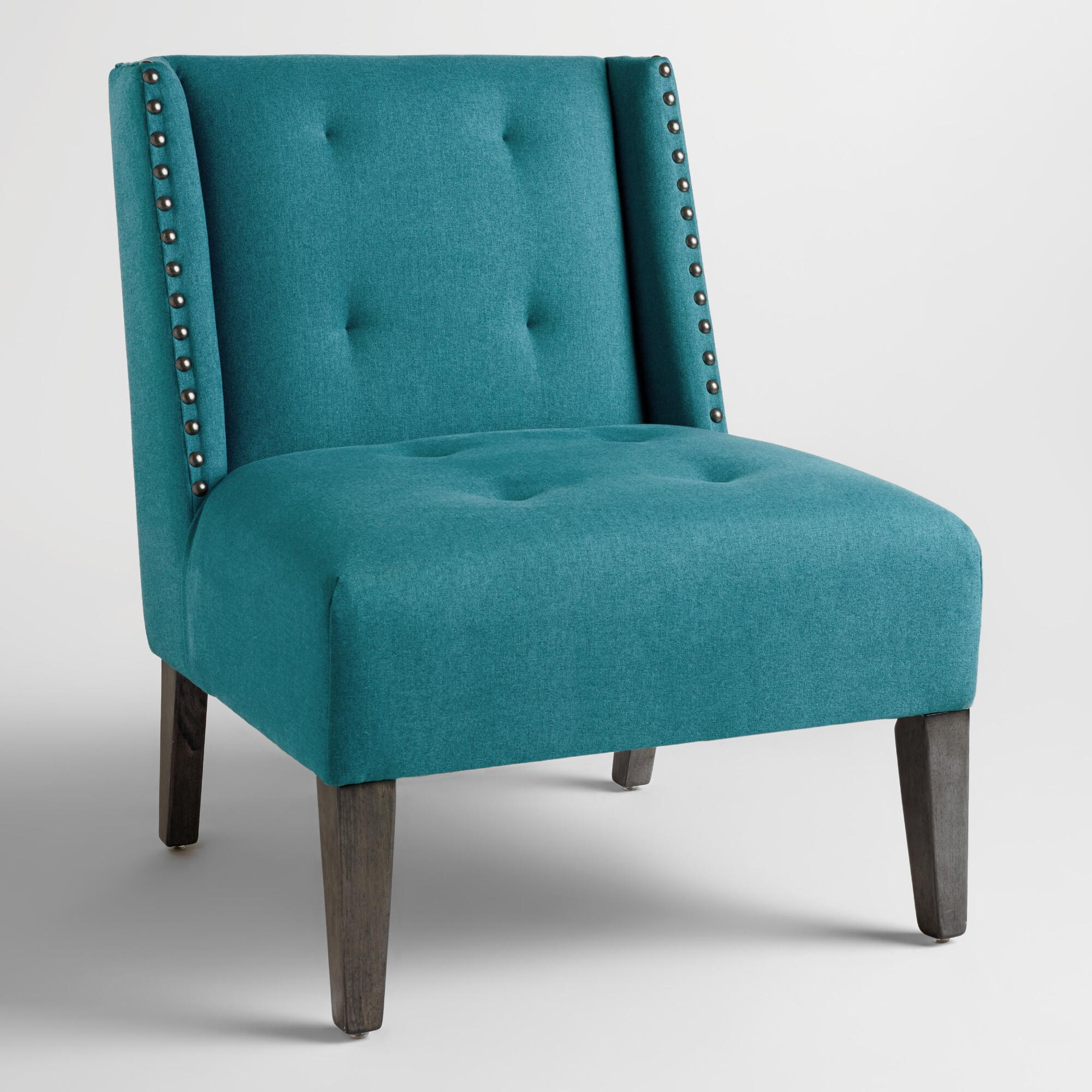 blue wingback chair xxx v