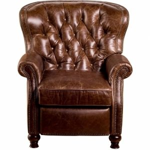 brown leather recliner chair cambridge brown leather recliner club chair
