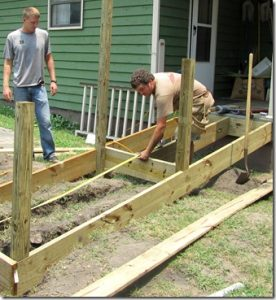 building wheel chair ramps building a ramp