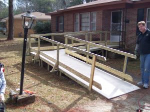 building wheel chair ramps tadros build