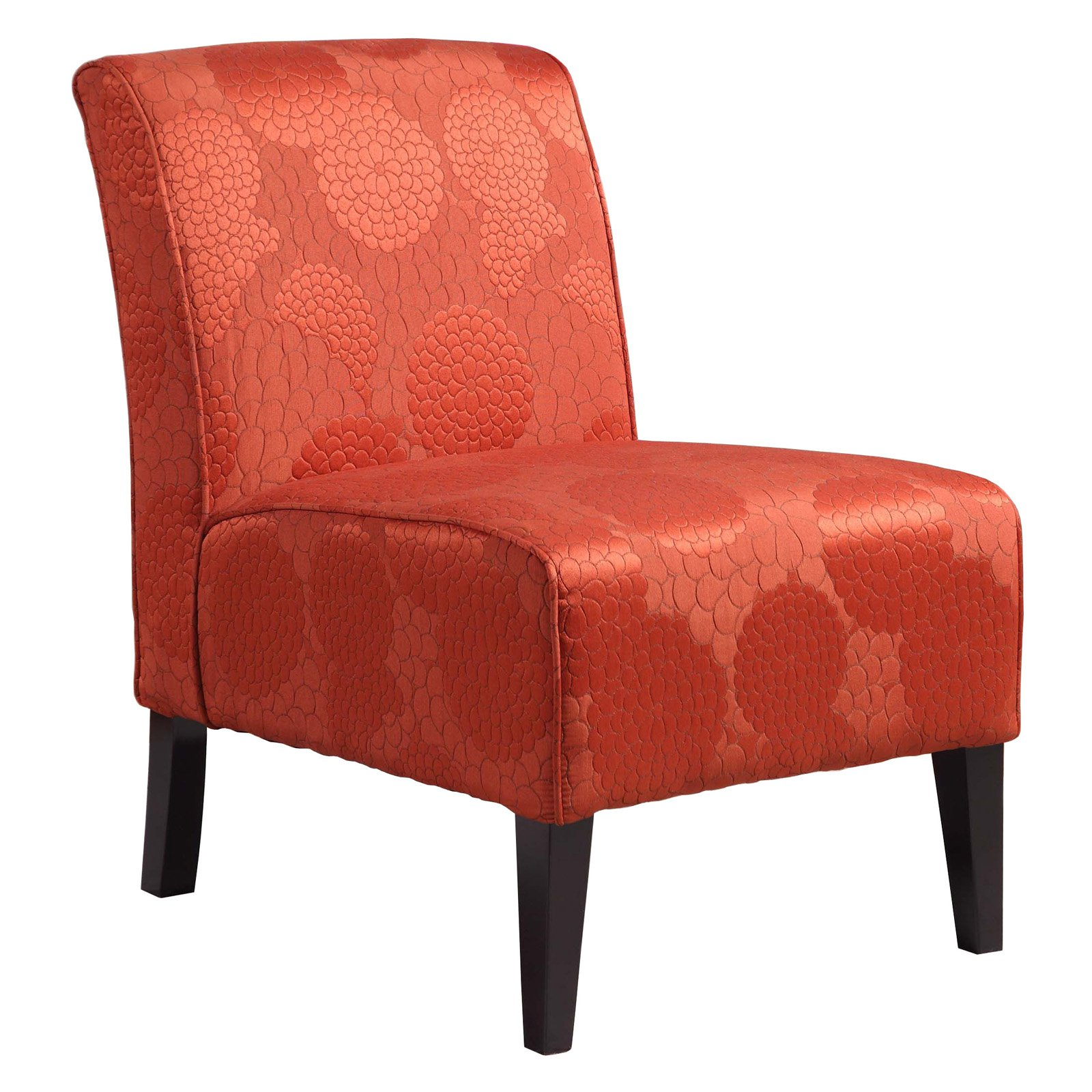 burnt orange chair master:lhd
