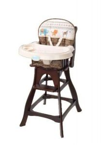 carter wood high chair carters animal parade classic comfort reclining wood high chair ile perrot