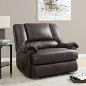 chair and a half recliner leather stanford faux leather chair and a half recliner