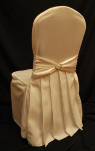 chair covers and linens pleats