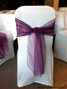 chair covers and sashes spandex chair cover with sash large