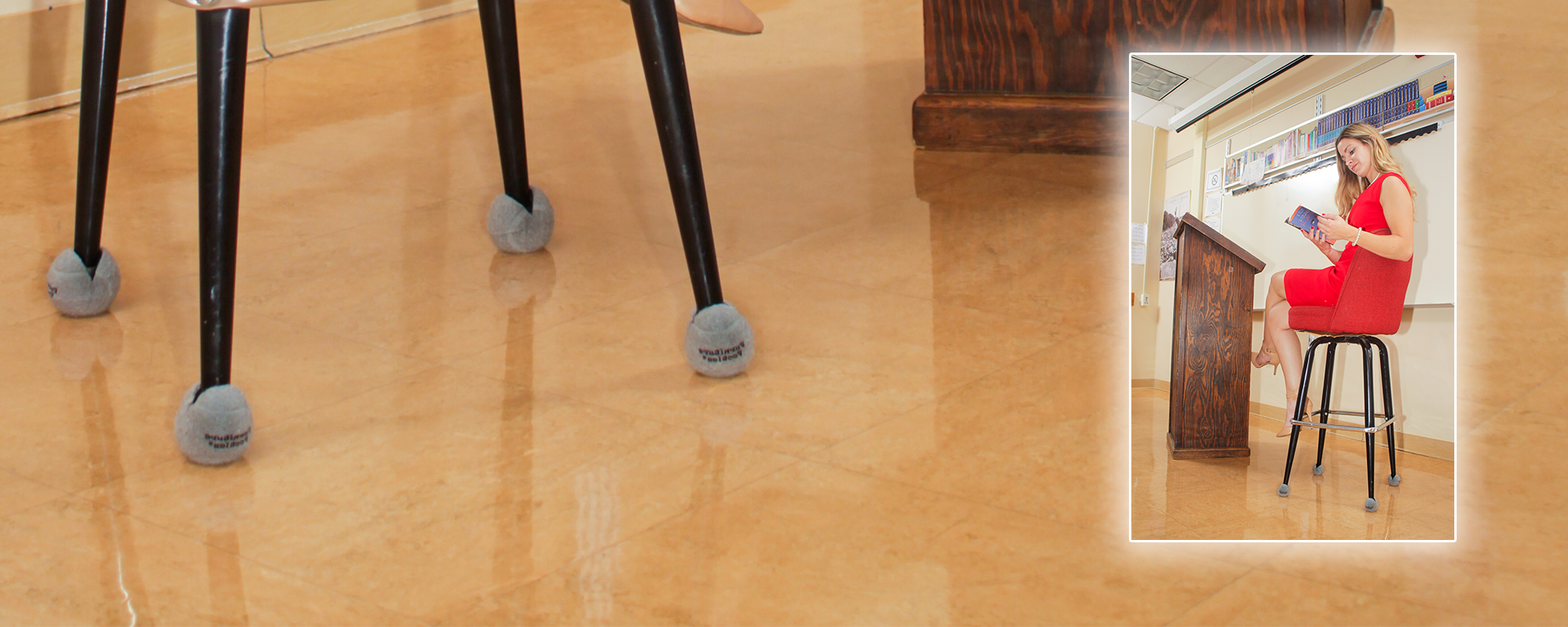 chair glides for tile floors