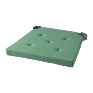 chair pad ikea justina chair pad green pe s