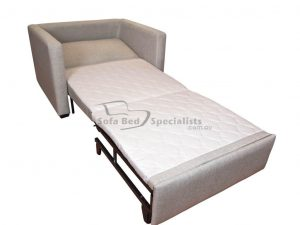 chair that turns into a bed sofabed chair single slats