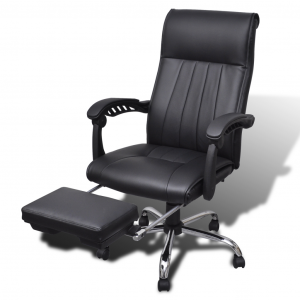 chair with footrest image