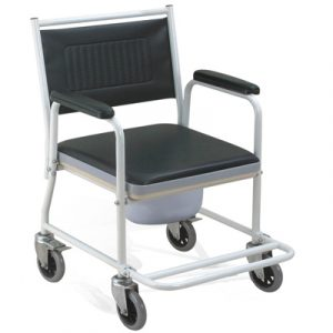 chair with wheels steel commode chair with wheels oh cc