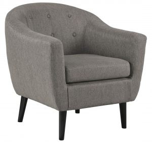 charcoal accent chair sw