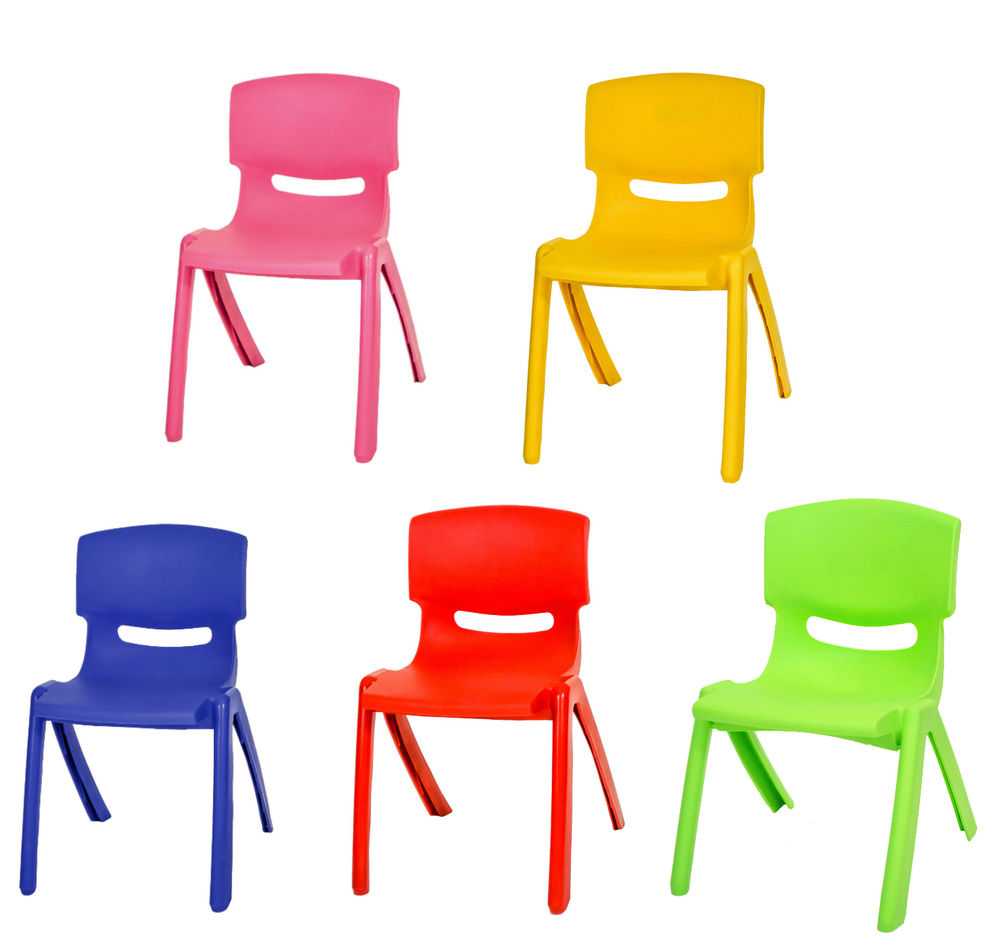 childrens plastic chair