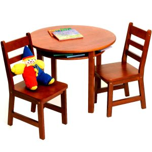 childrens table & chair sets childrens table and chairs set cherry