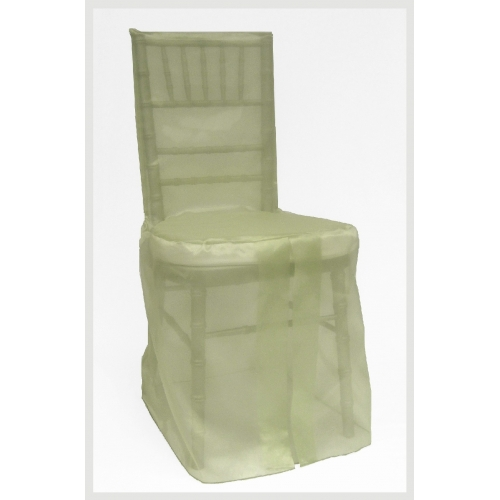 chivari chair cover sage organza chair cover x