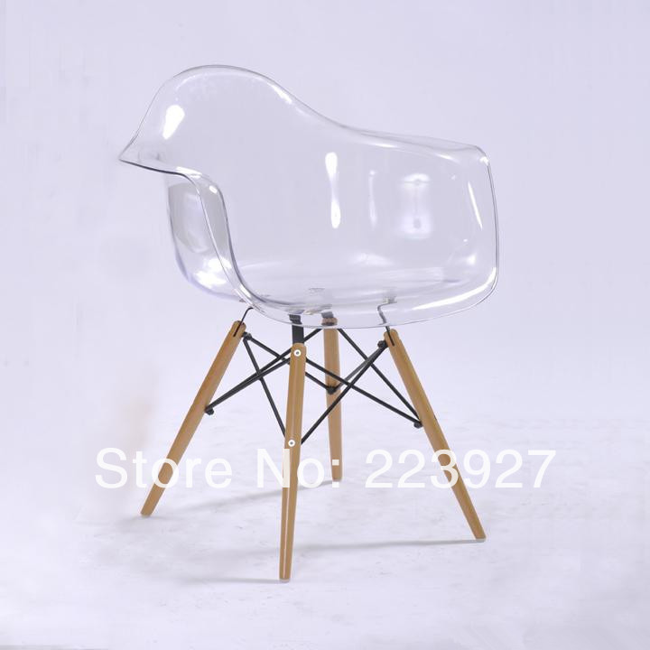 clear chair cheap transparent series eames daw font b chair b font armchair font b plastic b font dining