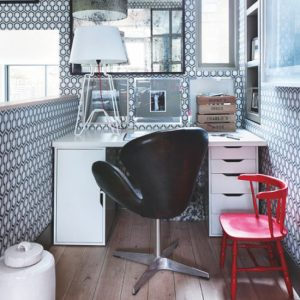 compact high chair home office