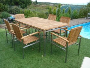 deck table and chair outdoor garden furniture teak table and chair rct rtt