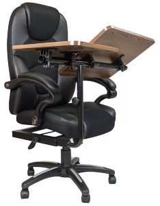 desk with chair all in one office chair with built in desk