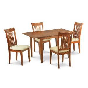 dinette table and chair wooden dinette set for small dining room with one square table and chairs