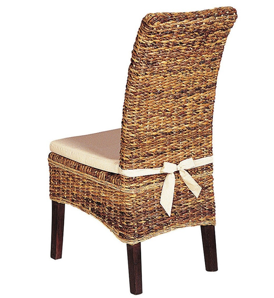 dining chair cushion with ties