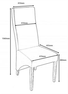 dining chair dimensions baxter chair charcoal