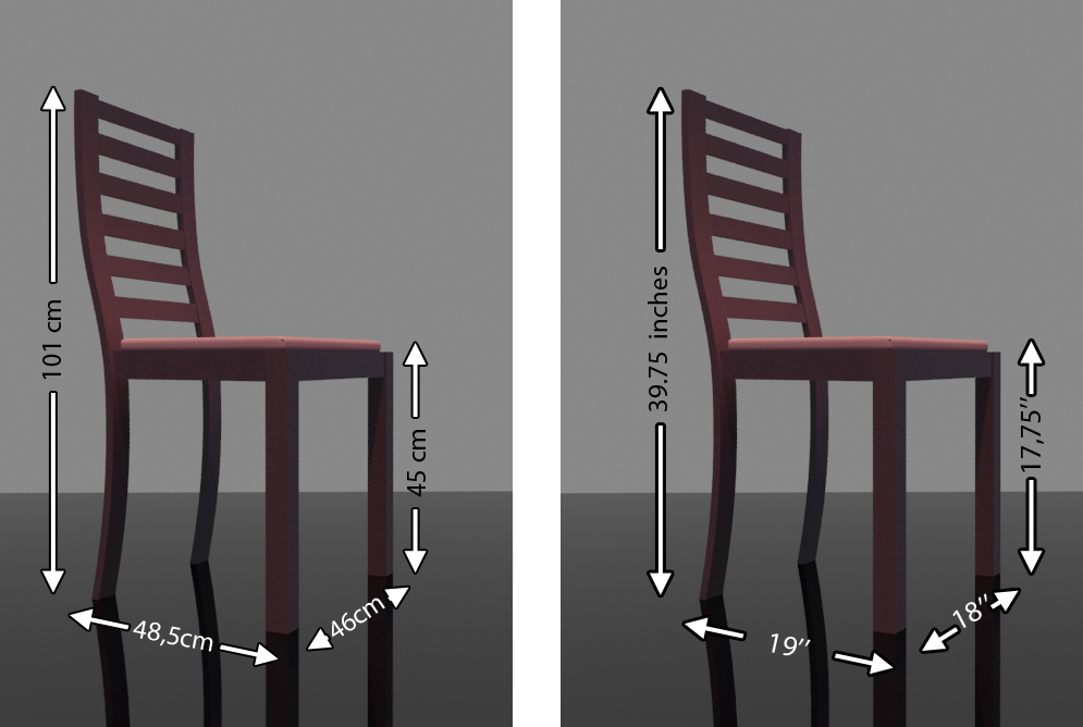 dining chair dimensions dining chair dimensions