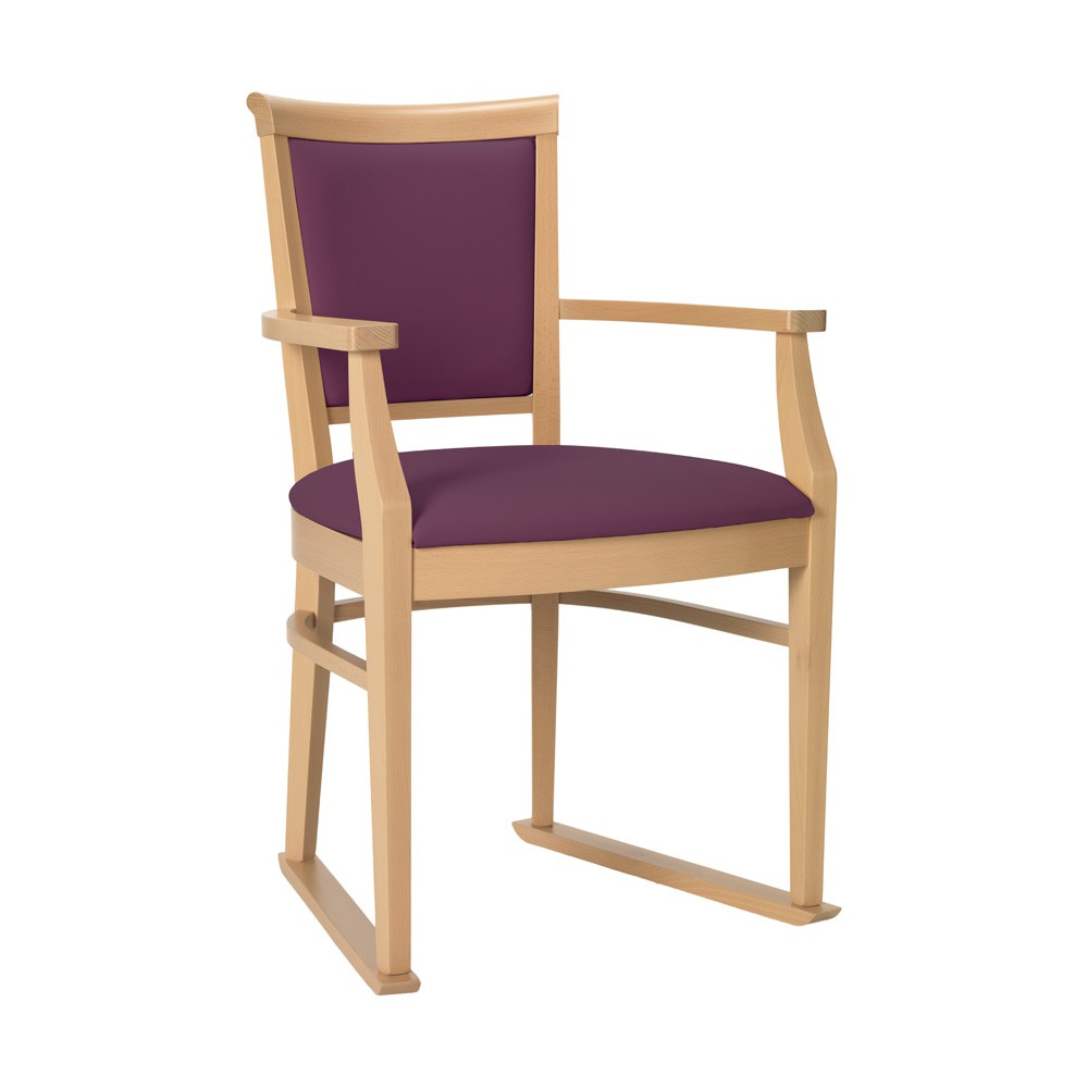 dining chair with arms ardenne plum web