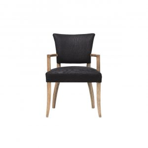 dining chair with arms mimi dining chair with arm whispy blackweathered oak