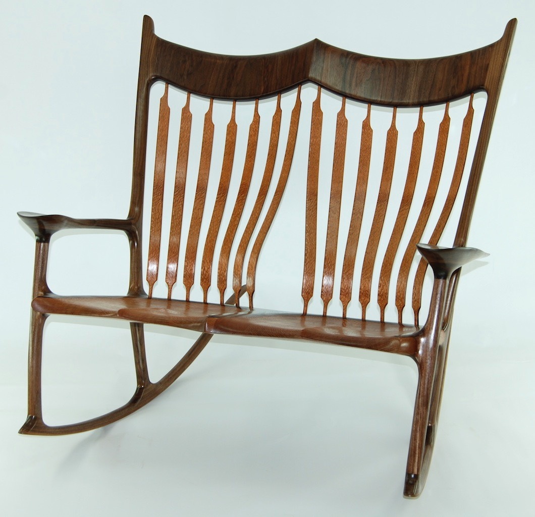 double rocking chair