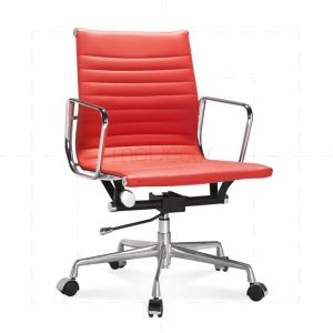 eames office chair eames office chair low back ribbed red x