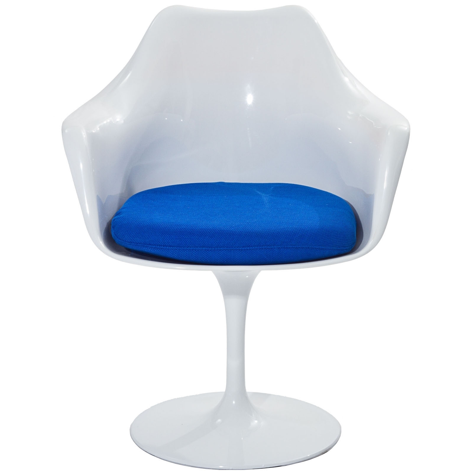 eero saarinen chair eei blu