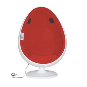 egg chair with speakers