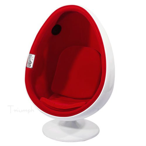 Superbe Egg Chair With Audio System
