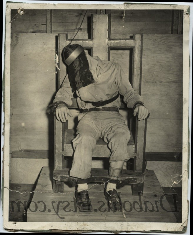 electric chair execution