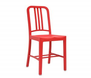 emeco navy chair navy n red chair red b